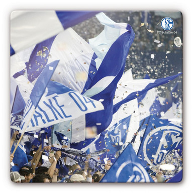 Glasbild FC Schalke 04 - Emotionen