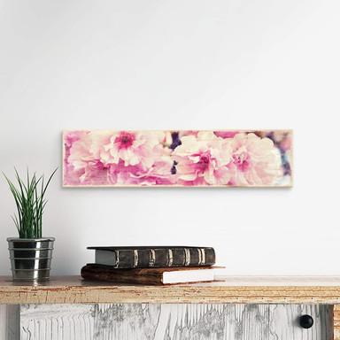 Holzschild Vintage Kirschblüten - Bild 1