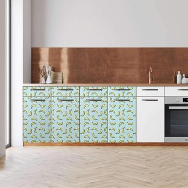 Küchenfolie - Unterschrank 160cm Breite - Hey Banana