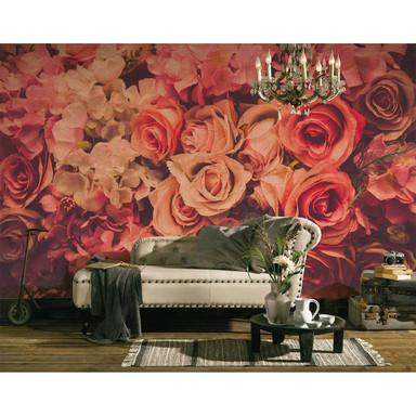 Livingwalls Fototapete Designwalls Flower Wall Blumen
