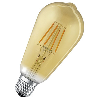 SMART& Bluetooth LED Vintage Leuchtmittel E27 ST64 6W 725lm 2400K