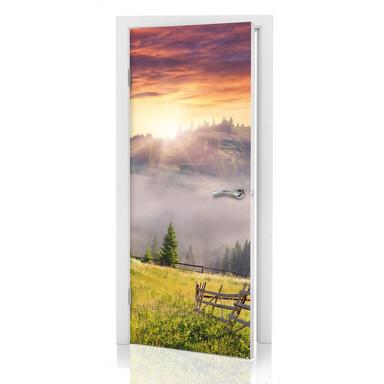 Türdeko Bergtal im Nebel - Bild 1