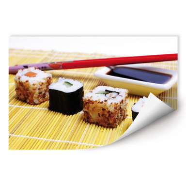Wallprint Sushi Maki