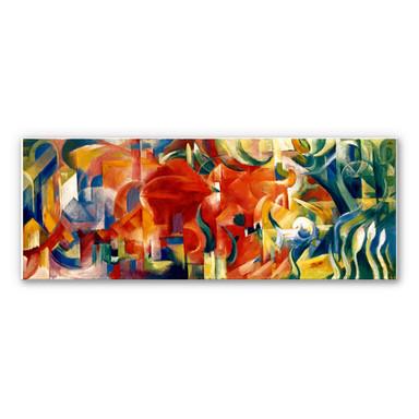 Wandbild Marc - Spielende Formen - Panorama