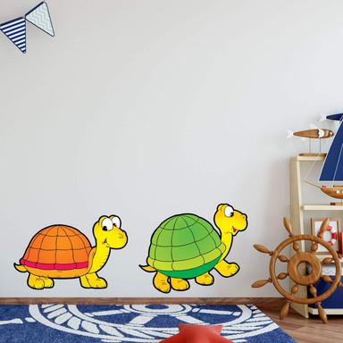Wandsticker Schildkrötenpärchen