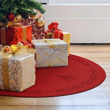 Weihnachtsbaumdecke - Merry Christmas