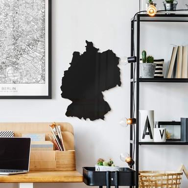 Acryldeko Karte Deutschland