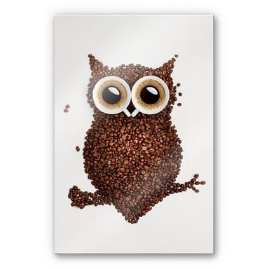 Acrylglasbild Kaffeeeule