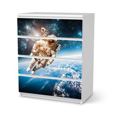 Folie IKEA Malm Kommode 4 Schubladen - Outer Space- Bild 1