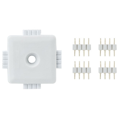 Function YourLED X-Connector Weiss, Kunststoff