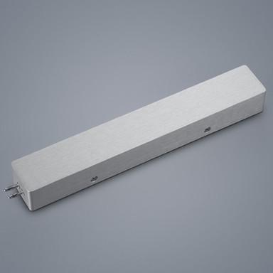 Gehäuse für Vigo LED Treiber in nickel-matt Endeinspeisung