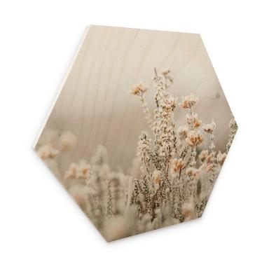 Hexagon - Holz Annie - Eisblüten