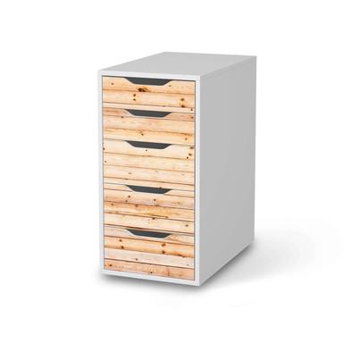 Klebefolie IKEA Alex 5 Schubladen - Bright Planks