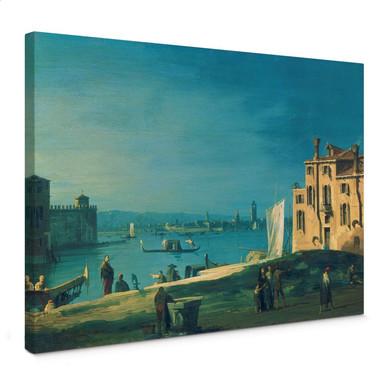 Leinwandbild Canaletto - Blick von San Pietro auf die Insel Murano