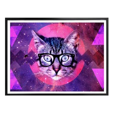 Poster Nerdy Cat