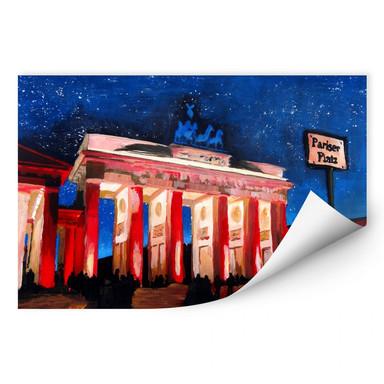 Wallprint Bleichner - Berlin unterm Sternenhimmel