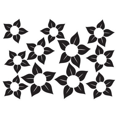 Wandtattoo Blüten-Set 14