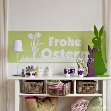 Wandtattoo Frohe Ostern 2