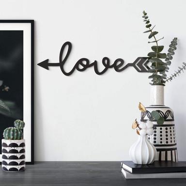 Acrylbuchstaben Love Arrow