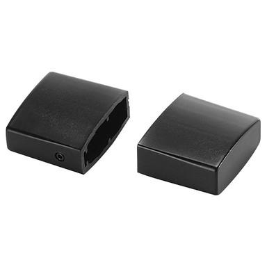 Endkappen für Easytec II in schwarz, 2 Stk.