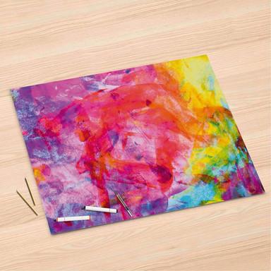 Folienbogen (120x80cm) - Abstract Watercolor