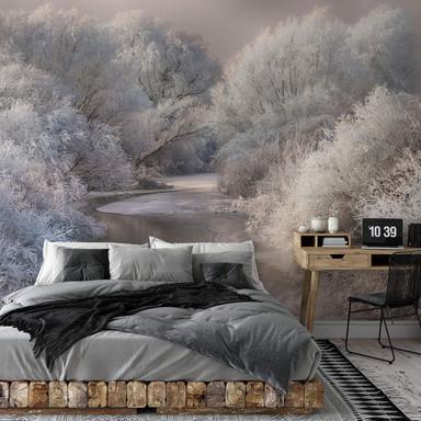 Fototapete Bela - Winterlandschaft