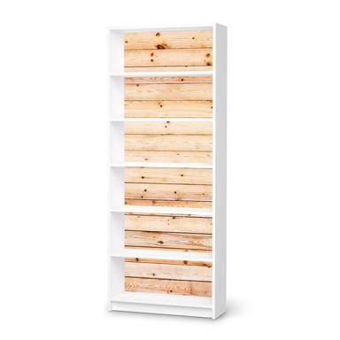 Klebefolie IKEA Billy Regal 6 Fächer - Bright Planks- Bild 1