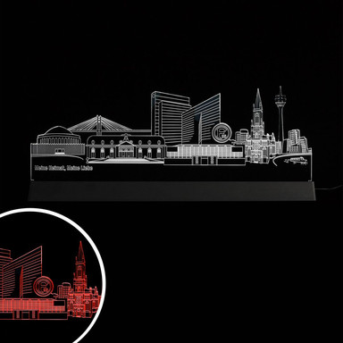 LED Skyline Fortuna Düsseldorf