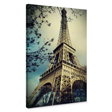 Leinwandbild Paris Eiffelturm
