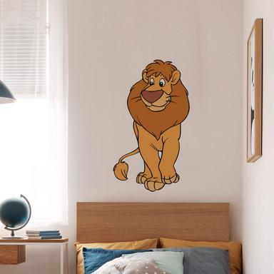 Wandsticker Benjamin Blümchen Löwe Leo