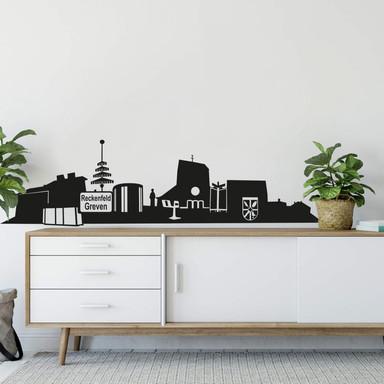 Wandtattoo Greven-Reckenfeld Skyline