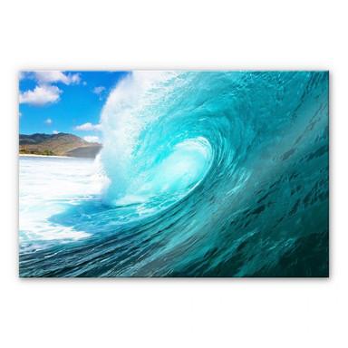 Acrylglasbild Welle