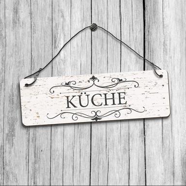 Deko Schild - Vintage Küche