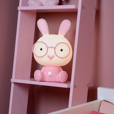 LED Tischleuchte Rabbit in Rosa