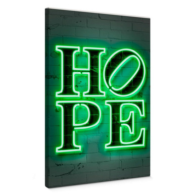 Leinwandbild Mielu - Hope