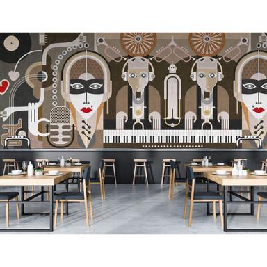 Livingwalls Fototapete Walls by Patel 2 wall of sound3 - Bild 1