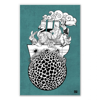 Wandbild Drawstore - Boattrip