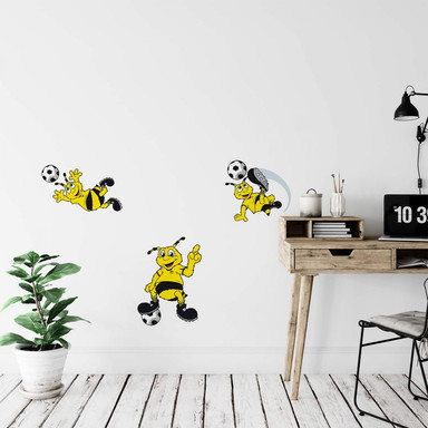 Wandsticker Borussia Dortmund Emma-Set