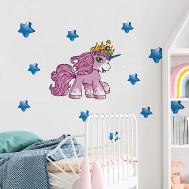 Wandsticker Filly Unicorn Dreams Luna
