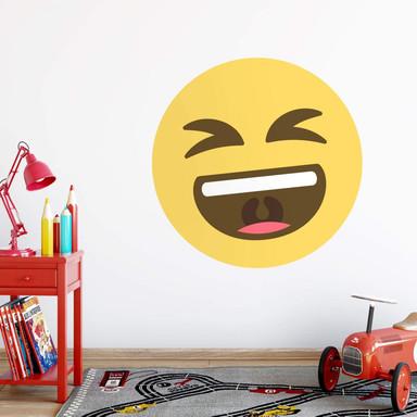 Wandtattoo Emoji Smiling Face 2
