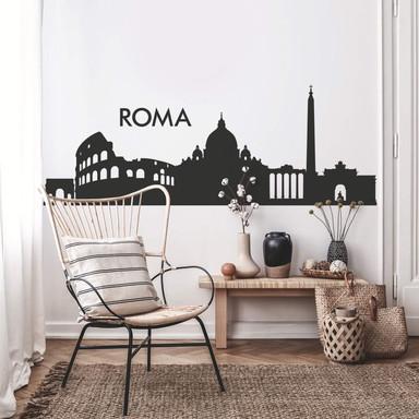 Wandtattoo Skyline Roma 2