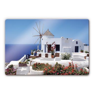 Glasbild Urlaub in Griechenland