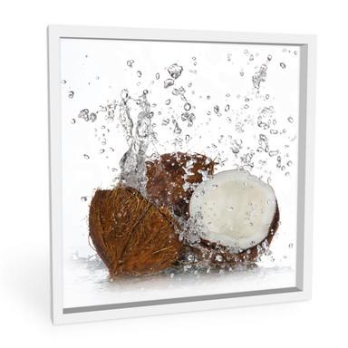 Hartschaumbild Caribbean Coconut