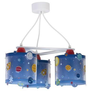 Kinderzimmer Deckenleuchte Planets fluoreszierend 3xE7