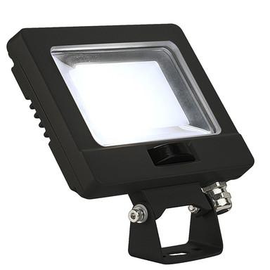 LED Strahler Spoodi mit Bewegungsmelder in Schwarz 11W 870lm 4000K