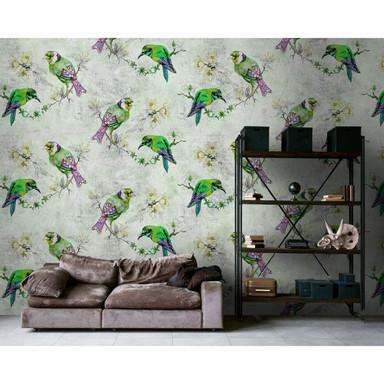 Livingwalls Fototapete Walls by Patel 2 love birds 2 - Bild 1