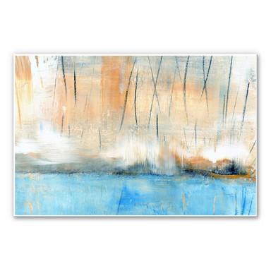 Wandbild Niksic - Wasserblau