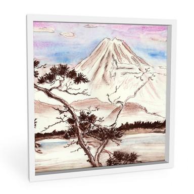 Wandbild Toetzke - Asian Landscape quadratisch