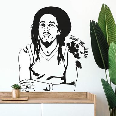 Wandtattoo Bob Marley 2