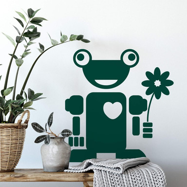 Wandtattoo Roboter Lenni